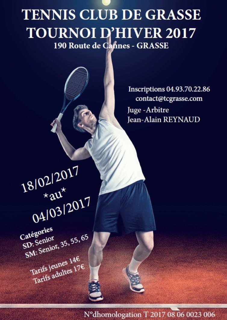 tournoi hiver tennis club grasse