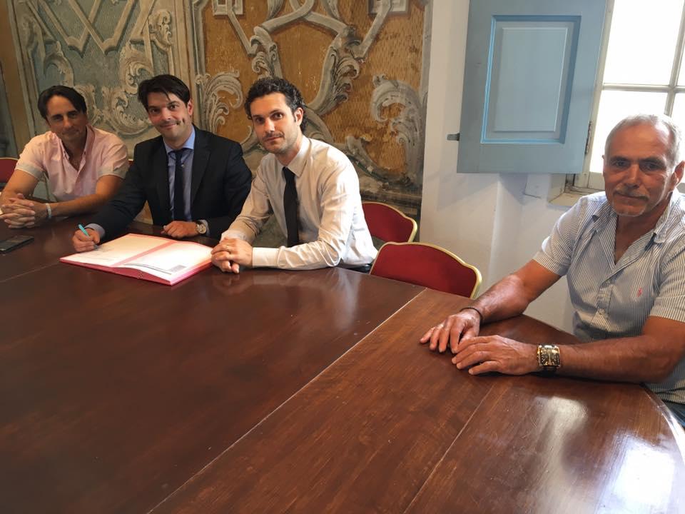 Signatures de conventions triennales avec les clubs sportifs grassois 06