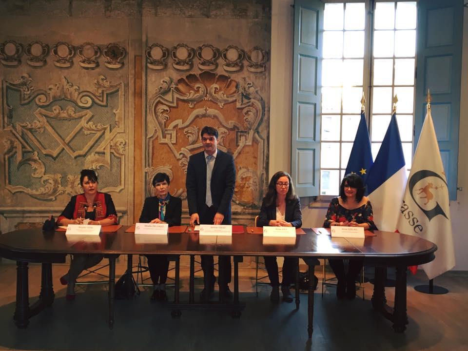 Signature de la convention du PACS avec la Mairie de Grasse 02