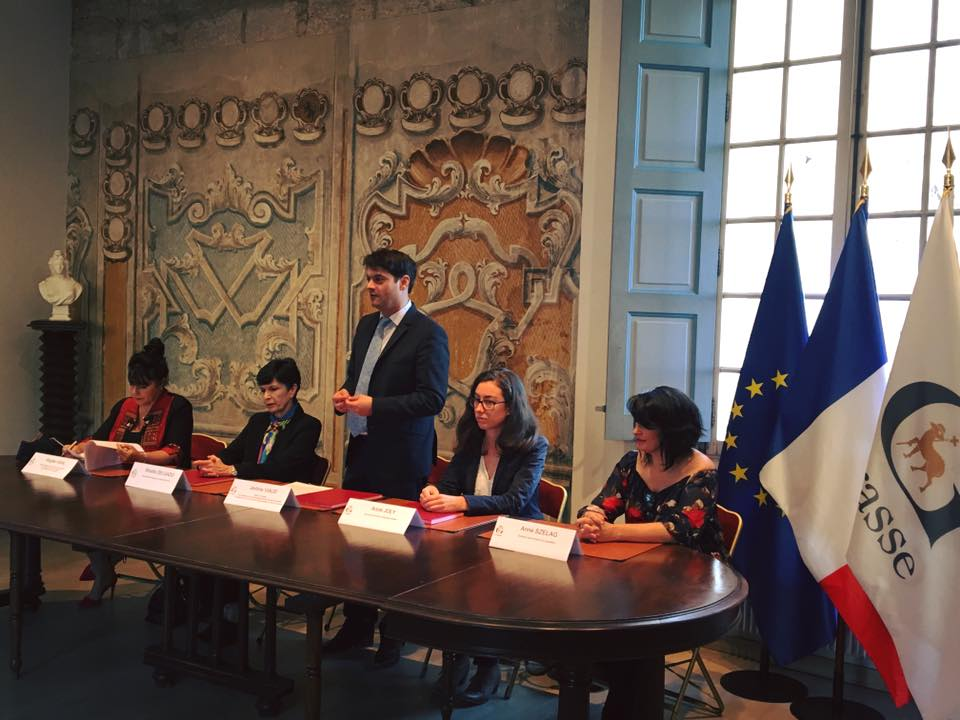 Signature de la convention du PACS avec la Mairie de Grasse 03