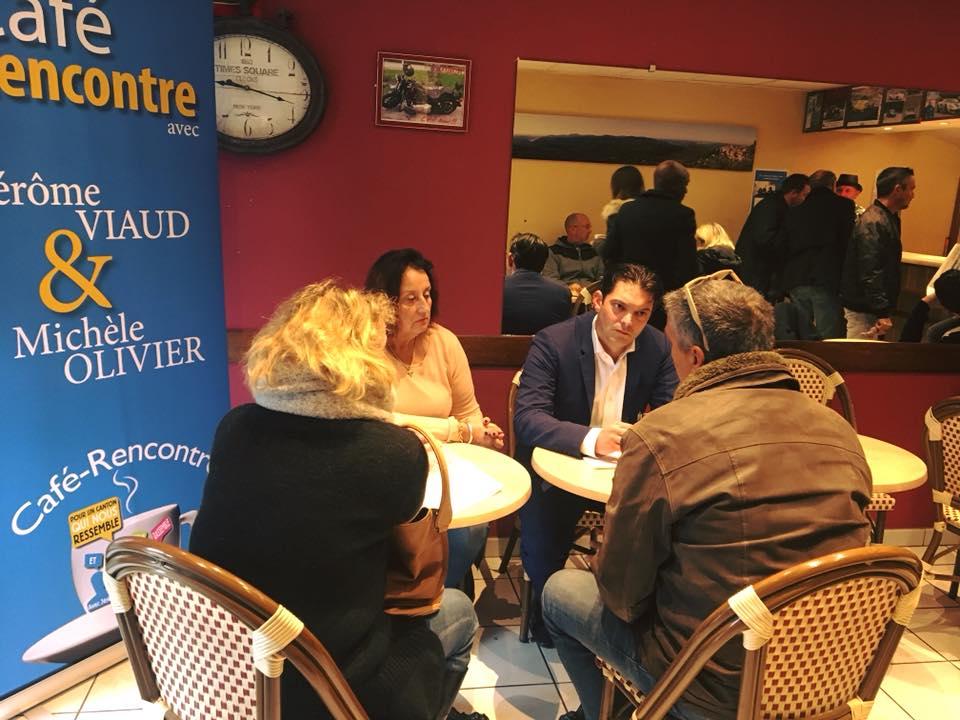 Café-rencontre au Tignet aux cotés de Michèle Olivier 03