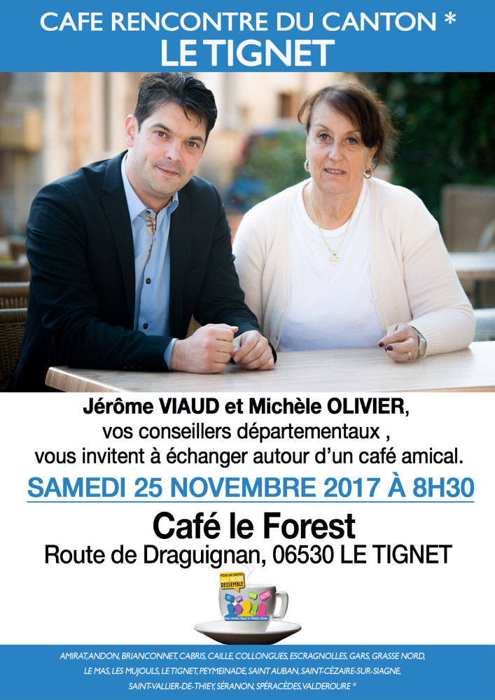 cafe rencontre LE TIGNET 25 NOV 2017