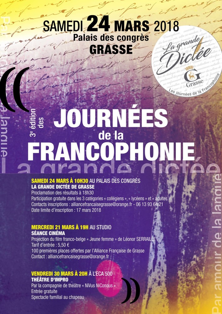 Journée Internationale de la Francophonie à Grasse 03