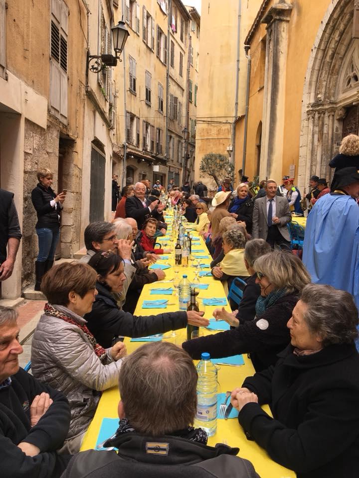11ème déjeuner festif et convivial autour des traditions grassoises avec Sou Fassum Grassenc 01