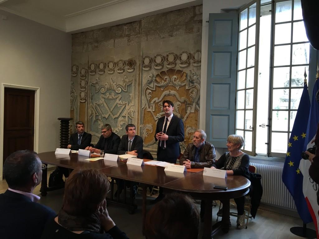 Conférence de Presse - Action Cœur de Ville 01