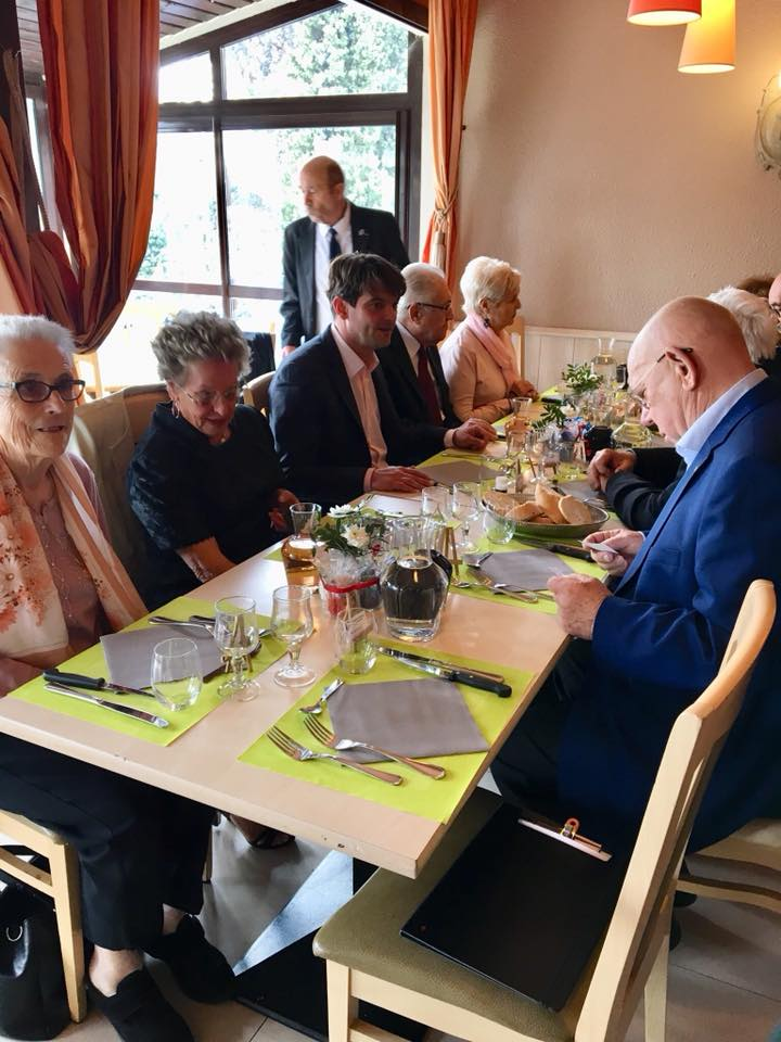 Moment de partage avec les sociétaires de l'Association des Anciens Combattants du Pays de Grasse et Amis 02