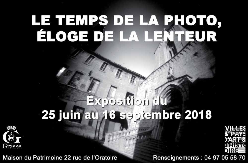 2018 Le temps de la photo, éloge de la lenteur