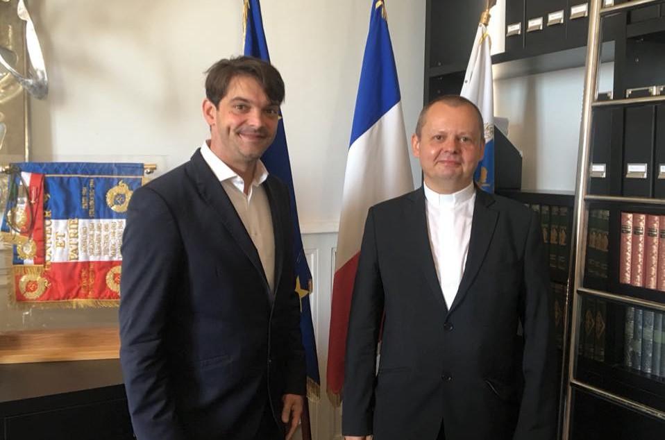 Bienvenue au Père André Koch nouveau curé de la Paroisse Saint Honorat