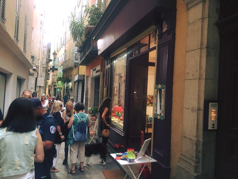 Ouverture de la boutique-atelier de Nathalie WAUTELIER, UN PARFUM D'ART 06