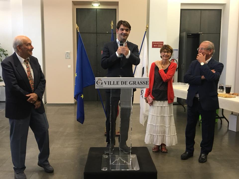 Vernissage de l'exposition des Artistes du Pays Grassois 01