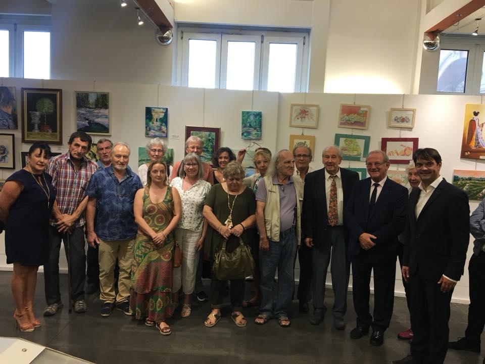 Vernissage de l'exposition des Artistes du Pays Grassois 02