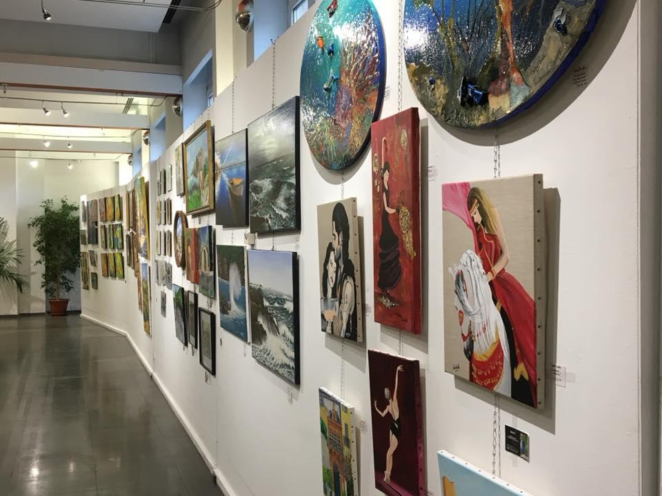 Vernissage de l'exposition des Artistes du Pays Grassois 05