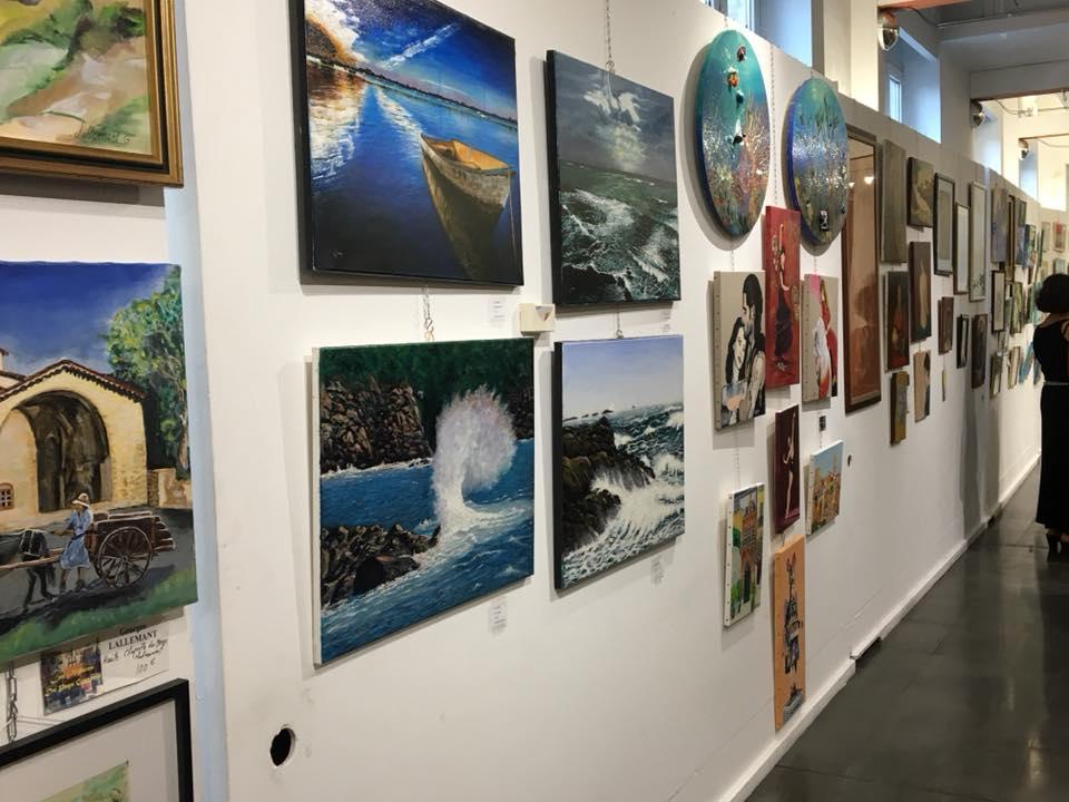 Vernissage de l'exposition des Artistes du Pays Grassois 06